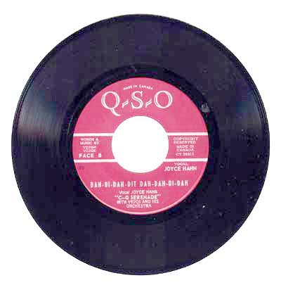 CQ Serenade vinyl record - B side - English