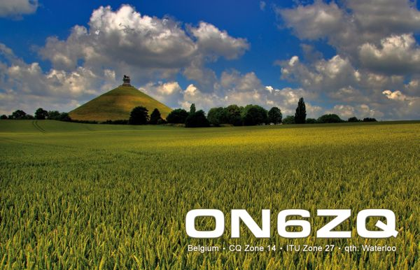 QSL card ON6ZQ